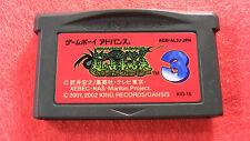 Shaman King Card game 3 (Nintendo Game Boy Advance GBA, 2002) Japan Import