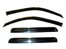 Vent Window Visor Shade Shades Visors Rain Guards for Mazda 3 S Hatchback 04-09