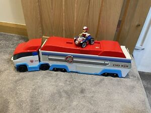 Paw Patrol Paw Patroller Truck With Ryder And ATV Quad