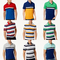 AUTHENTIC TOMMY HILFIGER Men's POLO T SHIRT Tees NWT blue yellow red white