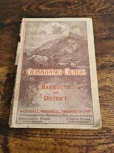 Gossiping Guide to Barmouth and District - Paperback - With Map - Vintage c1915