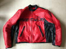 Dainese Vintage? Red And Black Padded Biker Jacket Size 54
