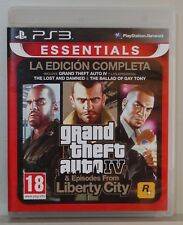 GRAND THEFT AUTO IV & EPISODES FROM LIBERTY CITY - PLAYSTATION 3 - PAL ESPAÑA