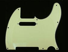 Tele Pickguard Vintage Mint Green 8 Hole 4 Ply for USA Fender Telecaster Guitar