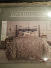 Brand New! TWIN Duvet Cover- Anthology Kendall in Oatmeal