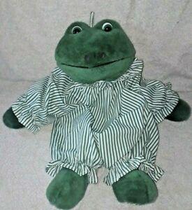 Vintage FROG DRESSED pyjama case or nightdress case MADE FOR TESCO STORES 1990'S