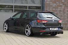 Bistyle Heckansatz Heckdiffusor aus ABS für Seat Leon 3 5F ab Bj. 2013-
