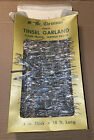 Vintage Mr Christmas Vinyl Tinsel Garland 18ft New In Open Box