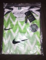 NIKE!! Nigeria 2018 football Shirt Brand New World cup Jersey Home MEDIUM