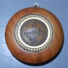 vintage israel 1955 Heletz first oil medal key chain souvenir company logo
