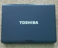Toshiba Satellite L300 Laptop Black PSLB8U-OK704H For Parts Only Not Working