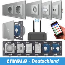 LIVOLO SmartHome WIFI Touch Funk Lichtschalter Steckdosen Wechselschalter Grau