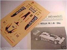 OSELLA FA 1/B 1981 DECAL 1/43