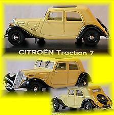 Citroen Tracción 7c 1934-41 Crema 1:43 Norev