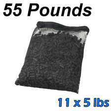 55 lbs Activated Carbon in 11 Media Bags for aquarium fish koi pond filter