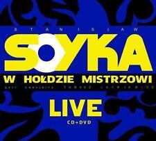 Stanislaw Soyka w holdzie Mistrzowi Live  (CD + DVD)  NEW