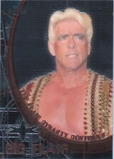 WCW Ric Flair David Flair 1999 Topps Embossed Chrome DoubleSided Insert Card DWC