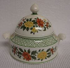 Villeroy & Boch SUMMER DAY   Large  Covered Candy Dish SUMMERDAY
