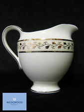 WEDGWOOD MARTHA STEWART Meadow SILVER Cream Jug 1 Piece, Bone China White