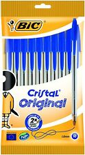 Kulli Kullis Kuli Kugelschreiber BIC Cristal Medium Der Klassiker Blau 10 Stück