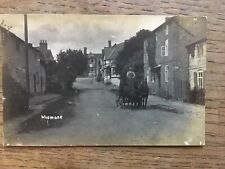 RP Postcard Wigmore Horse & Cart Herefordshire #4938