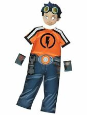 Nickelodeon Rusty Rivets Boys Fancy Dress costume Outfit World Book Day age 3-6