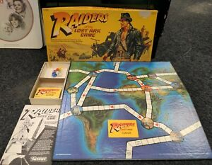 Vintage 1981 Kenner Indiana Jones Raiders of the Lost Ark Board Game COMPLETE