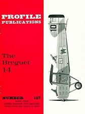 BREGUET 14: PROFILE #157/ 18 PAGES incl 3 NEWLY ADDED/ NEW PRINT FACSIMILE ED