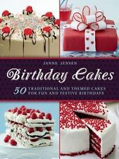 Birthday Cakes: 50 Traditional and Themed Cakes for Fun and Festive-ExLibrary
