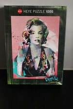 New Sealed Heye 1000 piecejigsaw puzzle - People by Johnny Cheuk - Marilyn 29710