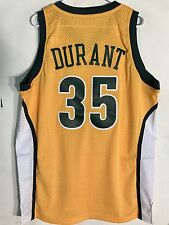Adidas Swingman NBA Jersey Seattle Supersonics Kevin Durant Gold HWC sz S