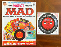 Second Worst from MAD MAGAZINE (1959) - FINE - Includes Bonus Record!