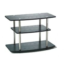 Convenience Concepts Designs2Go 3 Tier TV Stand, Black - 131020
