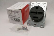 Legrand-Pass & Seymour 5740 30A 3 Phase 250V 3P 4 Wire Straight Blade Receptacle