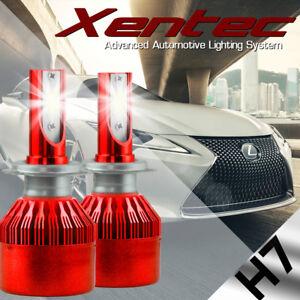 XENTEC LED HID Headlight kit H7 White for Mercedes-Benz E430 1998-2002