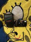 Fuji Discovery 90 Date 35mm Point & Shoot Film Camera Auto Focus w/Fujifilm Case picture