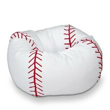 Ace Bayou Baseball Bean Bag Chair for Kids in Classic Design, 9662601 New