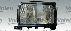 Headlight left (H4, electric, with motor, insert colour silver) NISSAN CABSTAR E