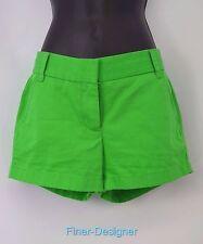 "J J.Crew chino broken in SHORTS green walking shorts 3"" womens short 12 NEW $49"