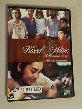 Blood And Wine A Brazillian Story (DVD, 2006) Joao Batista de Andrade