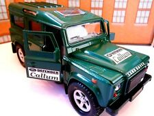 LANDROVER DEFENDER PERSONALIZED NAME Model Toy Car boy dad birthday gift & BOXED