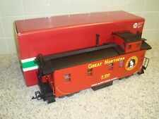 LGB CE-5 Red Great Northern Lighted Caboose Train car G Scale 47790 new in box