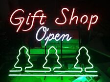 "New Gift Shop Bar Beer Man Cave Neon Light Sign 20""x16"""