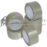 12 Rolls Of Strong Clear Packing Parcel Tape 48mm x 66M