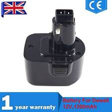 12V 1.3Ah Drill Battery For Dewalt DE9074 DE9075 DC542K DC612KA DW051K DW053K-2