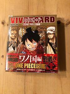 VIVRE CARD~ONE PIECE ZUKAN~ NEW STARTER SET Vol.1 Japanese BRAND NEW PRICE DOWN