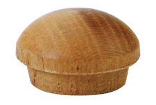 "100 Pcs - 3/8"" Cherry Wood Screw Hole Plugs Oval Head Buttons - Platte River"