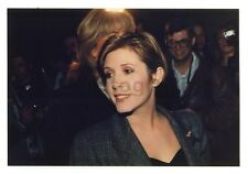 Carrie Fisher - Star Wars Icon Vintage Candid Photo by P. Warrack Unpublished