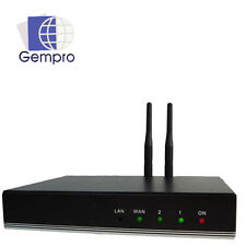 Gempro gp-712a Bluetooth Gateway VoIP SIP 2 Channel, supporto: 3cx Asterisk 3g 4g