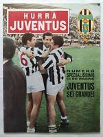 HURRA' JUVENTUS N. 6 GIUGNO 1967 CAMPIONI D'ITALIA 13° SCUDETTO